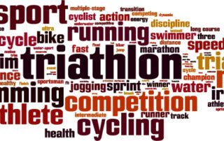 Triathlon uses a number of terms the average person may not understand.