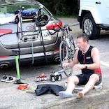 Parking at the Hyannis Triathlon is on Craigville Beach Rd.