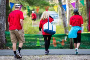 New England Endurance Events always has plenty of dedicated volunteers on the course.