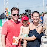 family at the race