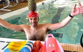 NEEE organizes coached swim workouts for triathletes.