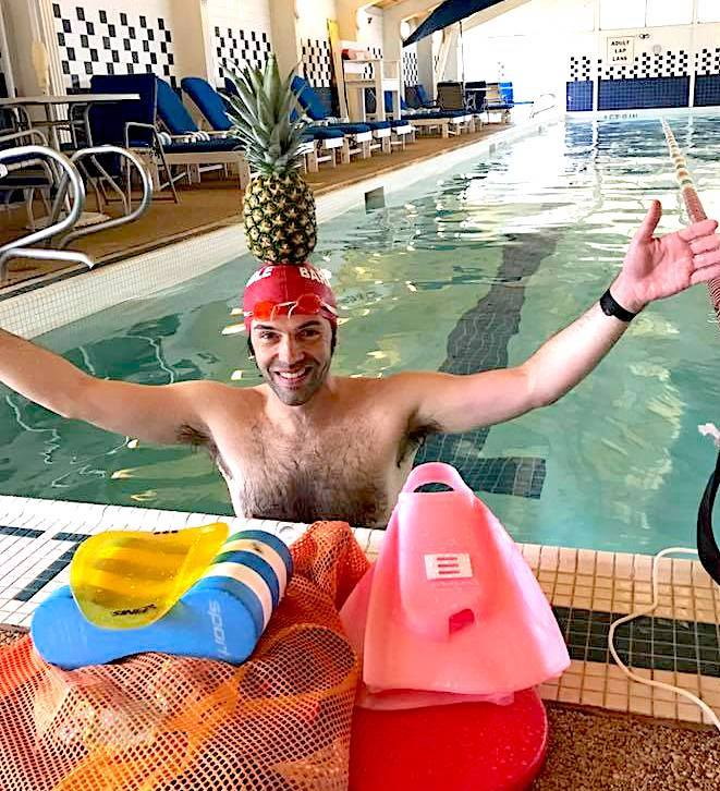 NEEE organizes coached swim workouts for triathletes.