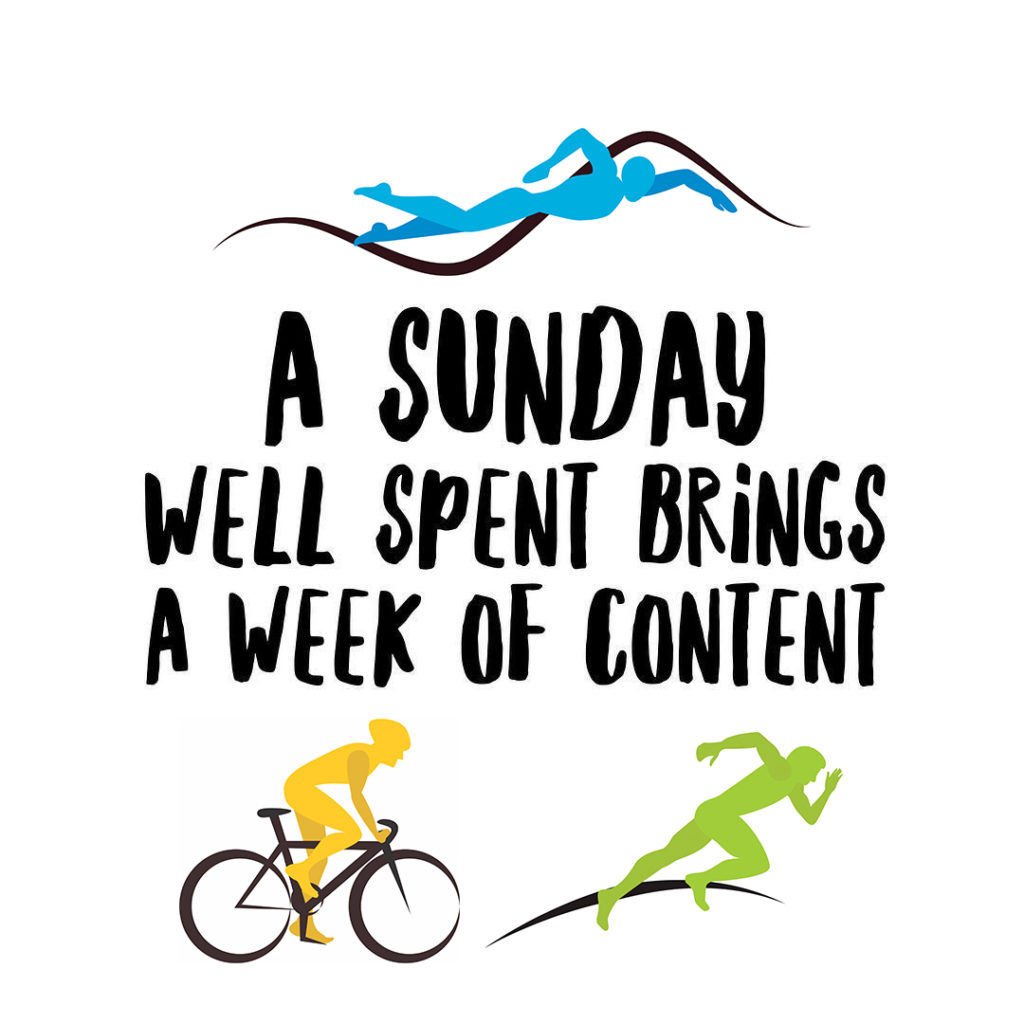"""Edward Geddis shares his """"Sunday Starter"""" strategy to get his training week started right."""